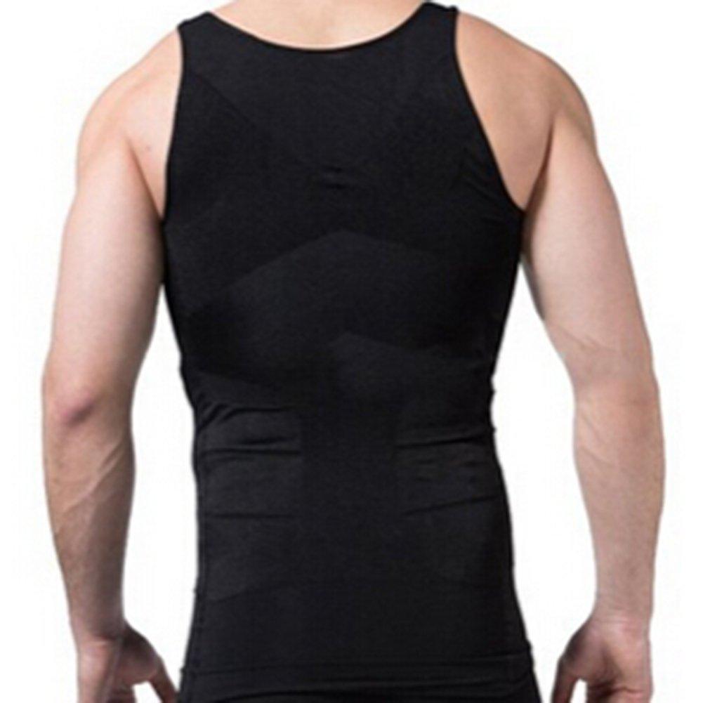 e2f6b3cd79 TopTie Men Slimming Body Shaper Compression Shirt Shapewear Sculpting Vest  Muscle Tank Bulk Sale  Amazon.co.uk  Sports   Outdoors