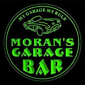 4 x ccpp1444-g Moran de garaje de sótano cerveza 3D posavasos