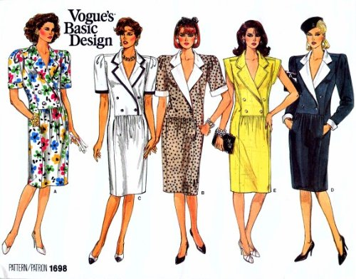 Uncut Vintage Vogue Pattern Dress - 9