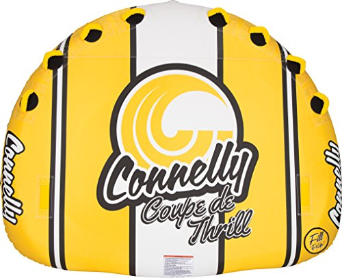 4 Inflatable Towable Tube - Connelly Classic Deck Style Towable Tube 4 Riders Coupe De Thrill Inflatable Raft
