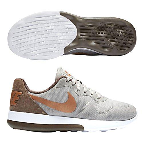 Nike Sportswear Md Runner 2 Lw Femmes Casual Baskets Moderne Léger Chaussures De Course Lt Minerai De Fer / Mtlc Rouge Bronze-palomino