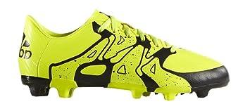 Adidas Zapatillas Fútbol Niño X 15.3 FG AG Amarillo – Terreno  Suave sintético cbc949e78bad1