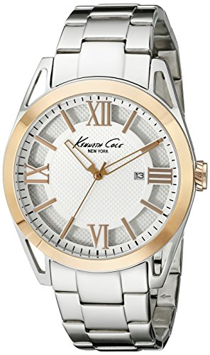 Kenneth Cole New York Men's KC9373 Classic Analog Display Japanese Quartz Silver Watch