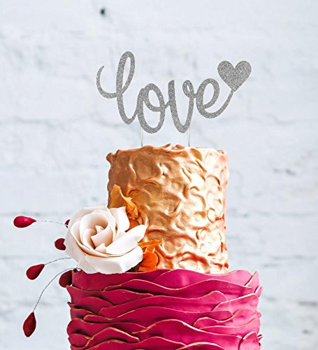 Lissielou Love Cake Topper Valentines Day Wedding Hen Party Love