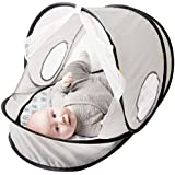 Baby Delight Comfy Canopy Breathe | Grey | Indoor and...
