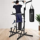 Physionics Home Gym Fitness Weight Bench Multi-Station Workout Machine Workstation