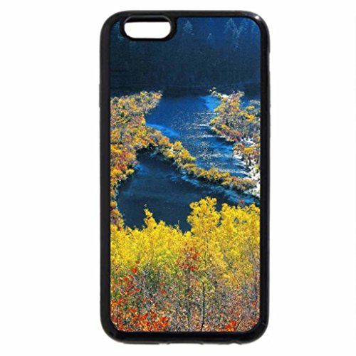 iPhone 6S / iPhone 6 Case (Black) River in Sections