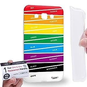 Case88 [Samsung Galaxy E7] Gel TPU Carcasa/Funda & Tarjeta de garantía - Art Carpet And Tapestry Colour Code B Art2046