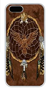 Dreams of the Eagle Polycarbonate Hard Case Cover for iPhone 5/5S White