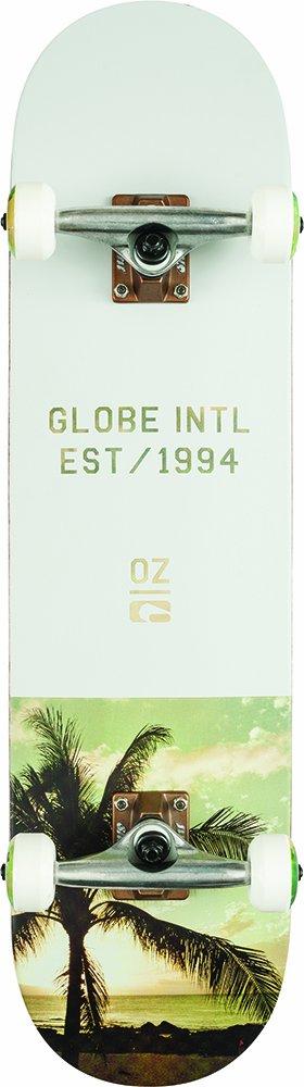 Globe Varsity Skateboard Unisex adulto Gris Palm  Fog Única
