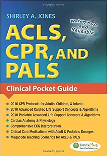 acls cpr and pals clinical pocket guide 9780803623149 medicine