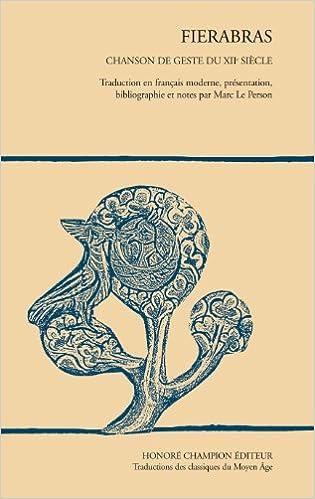 En ligne téléchargement gratuit Fierabras, chanson de geste du XIIe siècle pdf ebook