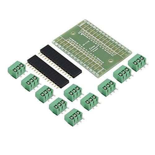 拡張モジュール 3セット ターミナル アダプタ Arduino NANO IOシールドV1.0用 DIYキット