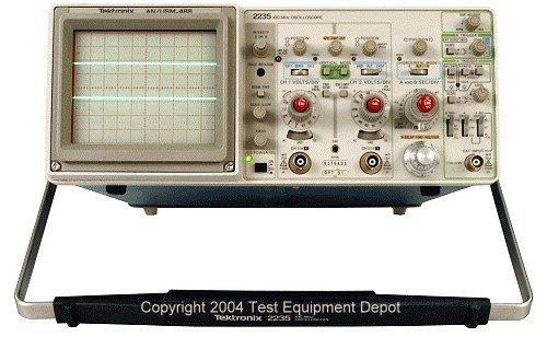 Tektronix Oscilloscope Manual (Tektronix 2235: An/Usm-488 Oscilloscope Service Instruction Manual w/Schematics)