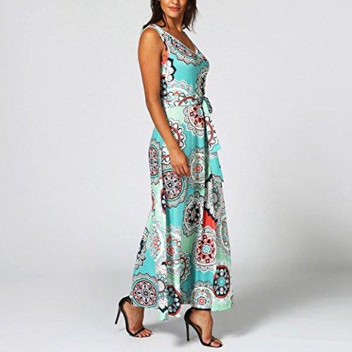 36 Guesspower Wrap Maxi Chic Vert Crois Sexy Bleu S Elgant Robe XXL Corset imprim Vintage sans Femme Rouge Bohme 44 Ete Manches Boho Longue Robe Soire rFwWr7qg