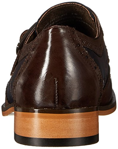 Stacy Adams Homme Stratford Slip-on Monk Chaussure Oxford Marron / Ampli / Marine