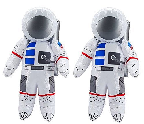 US Toy Inflatable Astronaut Toy (2-Pack) ()