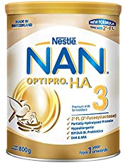 Nestlé NAN OPTIPRO Stage 3 H.A. Toddler Milk Formula, 1-3 years, 800g