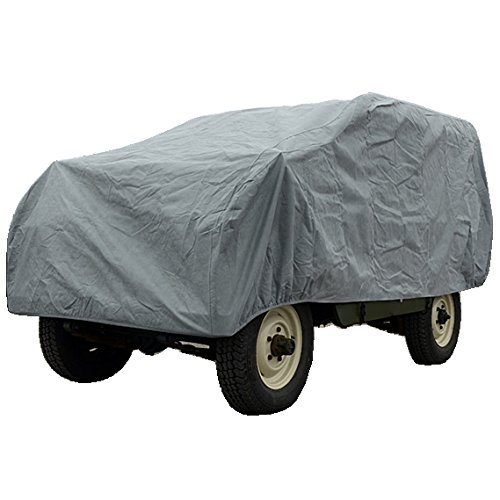 - Custom-fit Outdoor Car Cover for Land Rover Series 1 Through 3 - Short Wheel Base (SWB) - 1948 to 1985-4 Layer Padded, Waterproof & Breathable Fabric