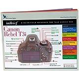 Blue Crane Digital Canon Rebel T3i inBrief Laminated Reference Card  (zBC539)