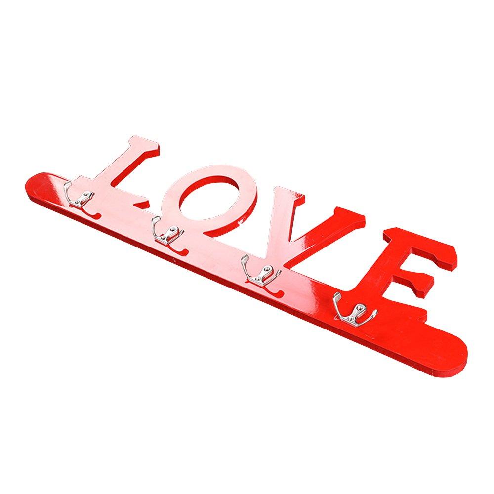 MJELKS Love Creativo Perchero/Colgador de Pared Puerta ...