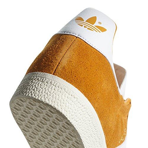 Adidas Gazelle Herren Sneaker. Schuhe Low-top Collegiale Goud / Ftwr Wit / Crème Wit