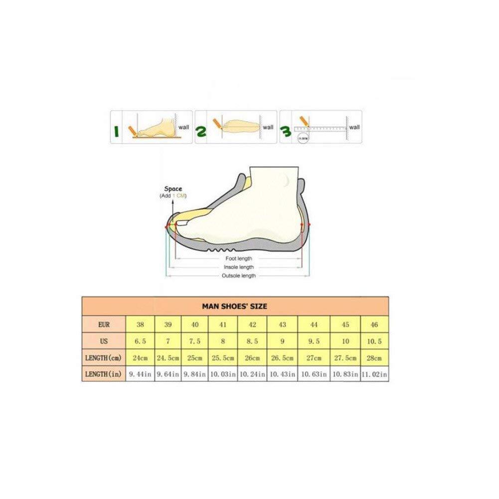 Herren Turnschuhe, Wanderschuhe, Atmungsaktive Koreanische Version des Wandern Wandern Wandern Sportschuhe, Britische Herren Outdoor-Schuhe, Sommer Flut Hohe Schuhe, (Farbe   1, Größe   40) ( Farbe   1 , Größe   42 ) fd5338