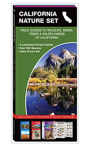 California Nature Set: Field Guides to Wildlife, Birds, Trees & Wildflowers of California