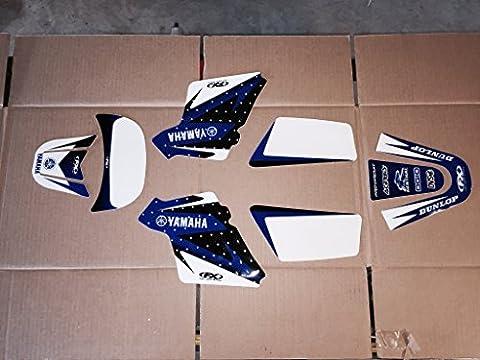 Pit Bike Pw 50 99-14 Yamaha Graphics Kit Factory Fx - One Industries Graphics Kits