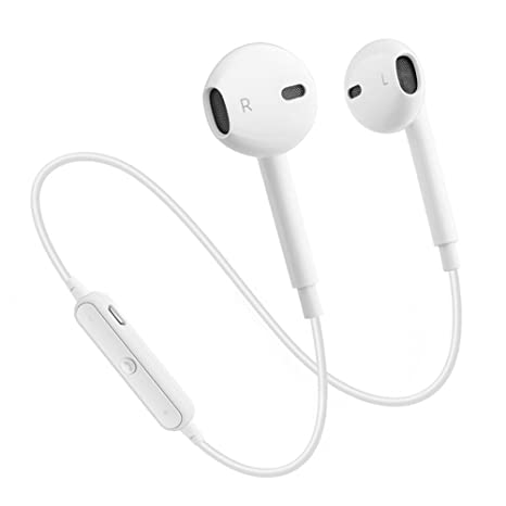 Auriculares Bluetooth S6 mejorados, Auriculares deportivos inalámbricos Auriculares estéreo V4.1 Auriculares resistentes al