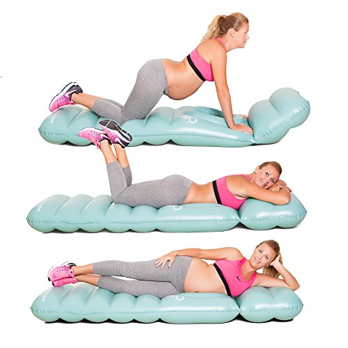 JlllO - The Inflatable Full Body Maternity Pillow a Hole Baby Bumps to Lie on Your Tummy During Pregnancy