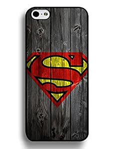 Anita B. Kumar's Shop 3937948M587210943 Iphone 6 Plus 5.5 Inch Case, Hipster Superman Series Slim Fit Clear Back Cover for Iphone 6 Plus (5.5 Inch), [Scratch Resistant] for Girls