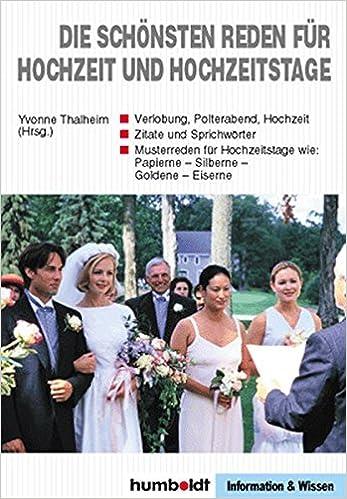 Die Schönsten Reden Für Hochzeit Und Hochzeitstage