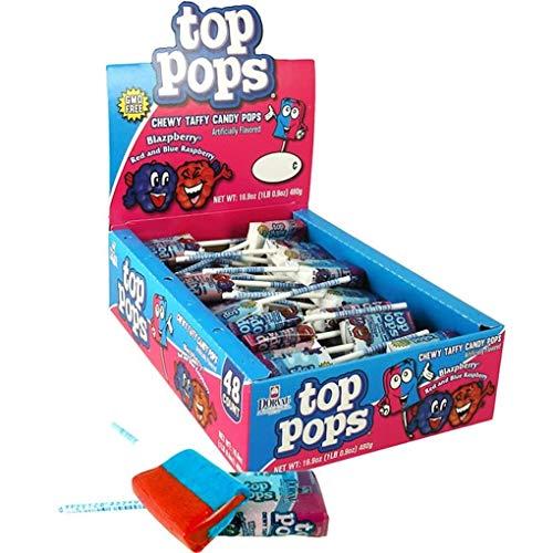 Tops Pops 48 Pack Blazpberry ()