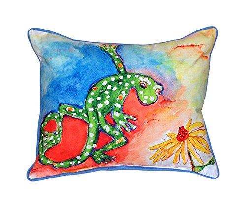 Gecko Indoor/Outdoor Pillow