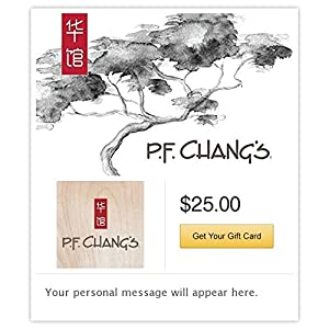 Amazon.com: P.F. Chang's Email Gift Card: Gift Cards