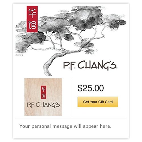 P F  Changs Gift Cards   E Mail Delivery
