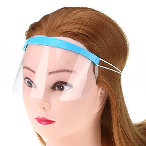 YJYdada Pro Hair Salon Hairdressing Hairspray Mask Shield Protect Your Eyes Faces - Ghoul Cape