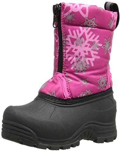 Northside Icicle Snow Boot Pink/Silver YMhi5u
