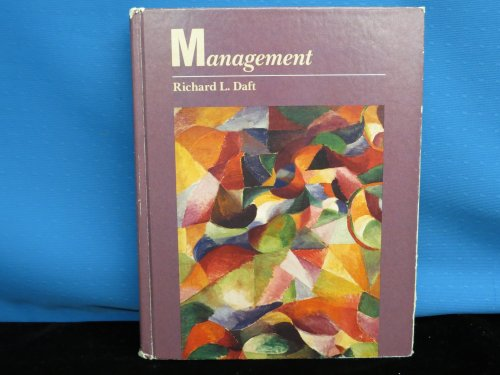 Principles of Management (The Dryden Press series in management)