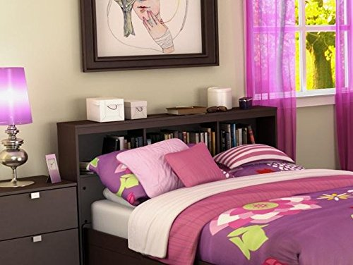 Kids Personalized Full Headboard (South Shore Furniture, Cakao Collection, Bookcase Headboard 54