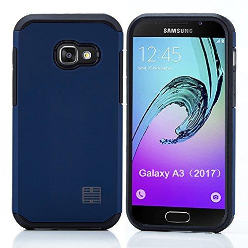 Slim Shockproof Case for Samsung Galaxy A3 (Blue) - 7