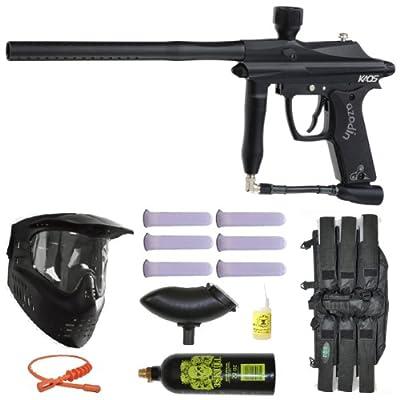 Azodin Kaos Paintball Marker Gun 3Skull Mega Set
