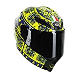 AGV Corsa Winter Test LE 2015 Ugly Sweater Helmet Blue/Yellow LG
