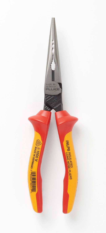 alicate cortador lateral c/nariz larga y aislamiento 1000V