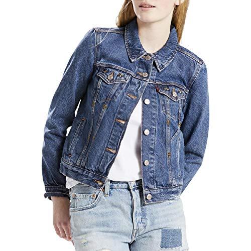LEVI STRAUSS & CO. Womens Trucker Spring Lightweight Denim Jacket Blue XS ()