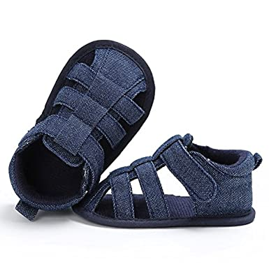 Dainzuy Baby Summer Sandals Boys Girls Toddler Infant Non-Slip Sole First Walker Shoes Closed Toe Fashion Baby Shoes