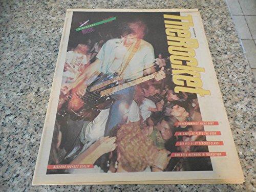 The Rocket Dec 1989 Seattle Music Scene Early Nirvana Invades Berlin Cvr