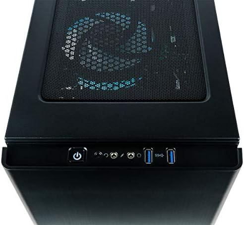 CUK Sentinel Black Gaming PC (Liquid Cooled Intel i9-9900KF, 32GB RAM, 1TB NVMe SSD + 2TB HDD, NVIDIA GeForce RTX 2080 Ti 11GB, 750W Gold PSU, Windows 10) Best Tower Desktop Computer for Gamers 14