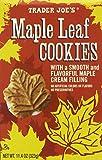 Trader Joe's Maple Leaf Cookies, Net WT. 11.4oz(323g)